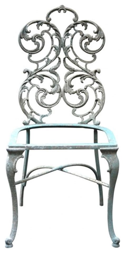 wrought iron chairs eclectic living room