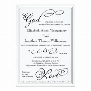 292 best christian wedding invitations images on pinterest for Wedding cards god images