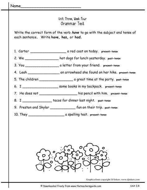 grade nouns  verbs worksheet schematic  wiring