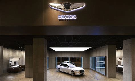 hyundais genesis luxury brand set  open  dedicated