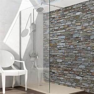 Paroi Douche Verre Sablé : paroi de douche fixe verre 8 mm 110 cm ~ Premium-room.com Idées de Décoration