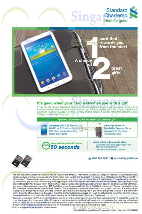 Check spelling or type a new query. Standard Chartered 17 Sep 2014 » Standard Chartered Apply For Credit Card & Get Free Gift 17 Sep ...