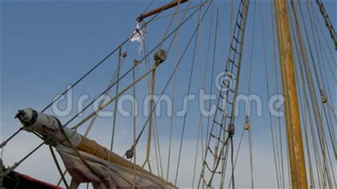 Viking Boat Flags by The Ropes And The Flag Of The Viking Ship Gh4 4k Uhd