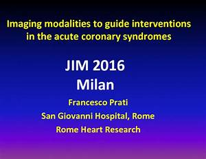 Imaging Modalities To Guide Interventions In The Acute
