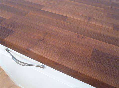 Arbeitsplatte  Küchenarbeitsplatte Massivholz Akazie
