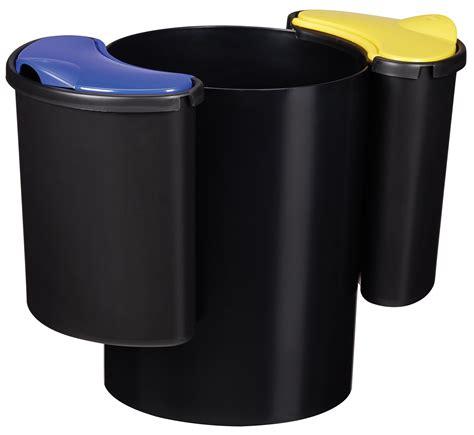 poubelle de bureau design poubelle de bureau tri selectif 60402 bureau idées