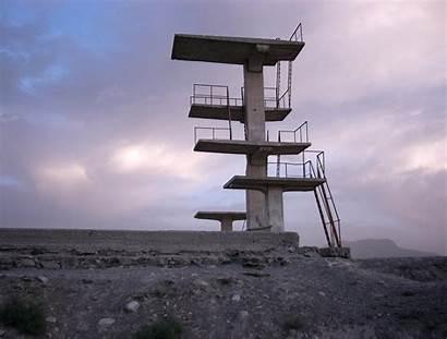 Diving Platform Kabul Concrete Datei Commons Sprungturm