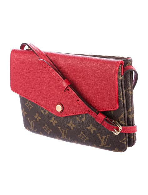 louis vuitton monogram twinset bag handbags lou