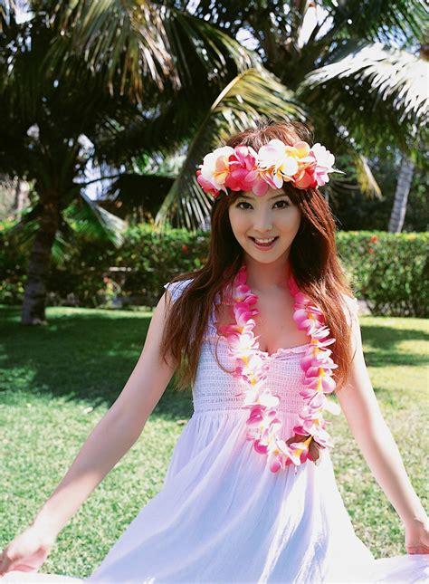 Sanokjiji Sexy Nozomi Sasaki White Flowing Dress Outdoors