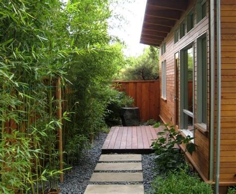 terrasse hö als garten 8606 bambus als sichtschutz im hinterhof coole idee garden bambus garten haus b 228 ume und garten