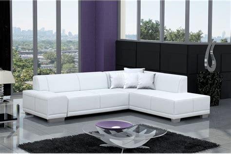 canapes modernes canapé d 39 angle moderne william noir blanc noir ivoire