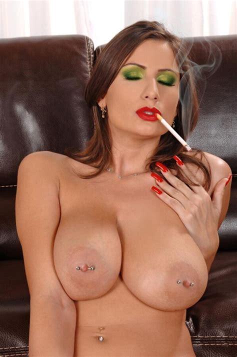 Smoking Fetish Blow Job