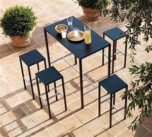 Stehtisch Mit Hocker : outdoor sets bestehend aus hocker und stehtisch idfdesign ~ Markanthonyermac.com Haus und Dekorationen
