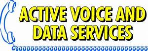 Active Voice And Data Services Logo