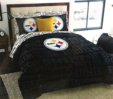 steelers comforter set pittsburgh steelers bedding sets price compare