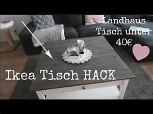 Ikea Hack Lack Tisch : ikea tisch neu gestallten ikea hack landhaustisch unter 40 youtube ~ Eleganceandgraceweddings.com Haus und Dekorationen