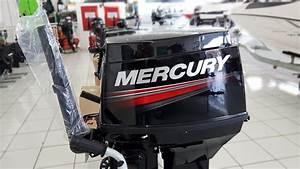 Motor De Popa Mercury 40 Hp Manual 3 Cil 2 Tempos Novo