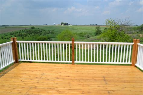 paint porch rails  stain   deck newlywoodwards