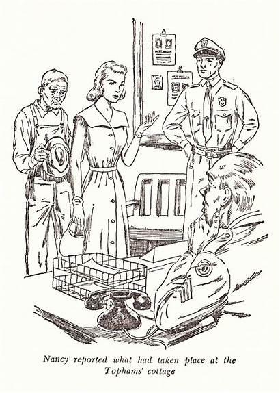 Nancy Drew Clock Books Secret Illustration Revisiting