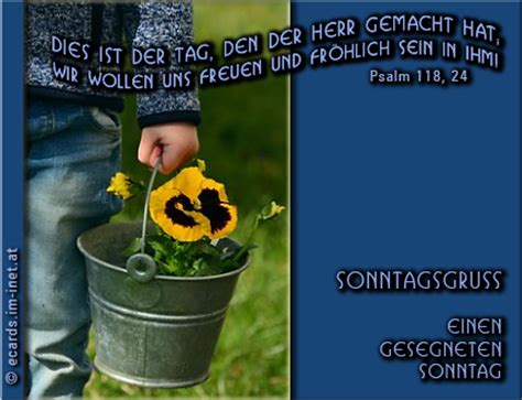 christliche ecards sonntagsgruss