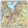 Aerial Photography Map of Renton, WA Washington