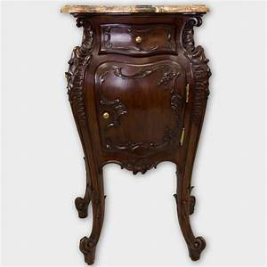 Antique side table with marble top side tables and end for Antique marble coffee table and end tables