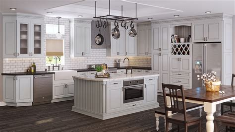 light grey kitchen cabinets tahoe light gray rta ready to assemble kitchen cabinets 6992