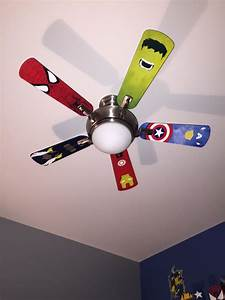 Spiderman ceiling fan Lighting and Ceiling Fans