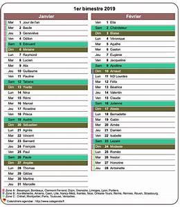 Calendrier Par Mois : calendrier 2019 bimestriel avec agenda d taill format ~ Dallasstarsshop.com Idées de Décoration