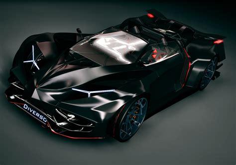 Lamborghini Diverso Hybrid Is Similar To Batman Car