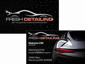 Fresh detailing business card westcoast media group for Detailing business cards