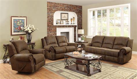 sir rawlinson brown reclining living room set  coaster