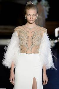 near naked wedding dresses hit the catwalk at bridal With topless wedding dress