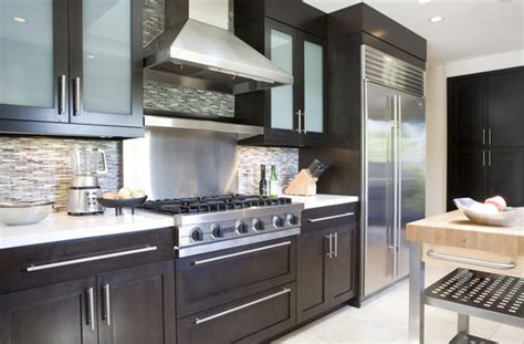 gorgeous glass kitchen cabinet doors home design lover