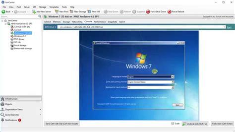 Install Windows 7 To Xenserver