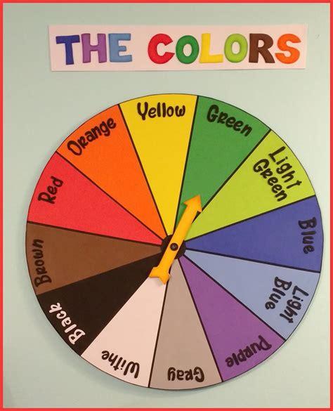 Ruleta colores en ingles - Recursos didcticos