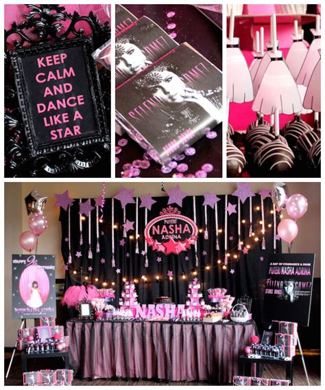 Karas Party  Ee  Ideas Ee   Selena Gomez Rock Star Birthday Party