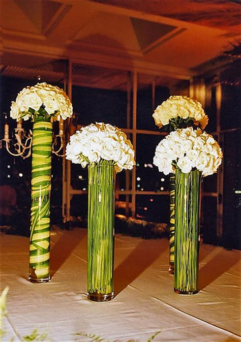 Thin Vase Centerpiece Ideas by Vases