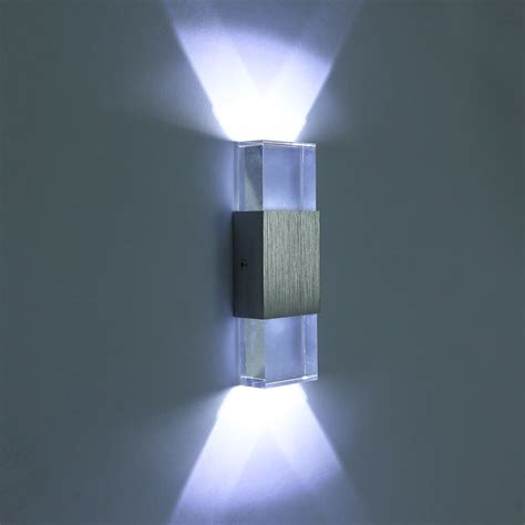 indoor wall sconces modern led wall light up sconce l