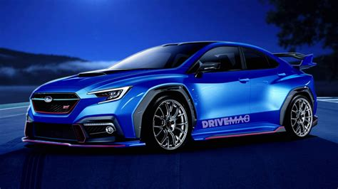 Subaru Sti 2020 by We Imagine The Next Generation Subaru Wrx Sti