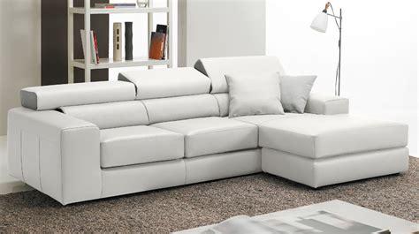 canap haut de gamme en cuir canapé d 39 angle réversible en cuir blanc haut de gamme