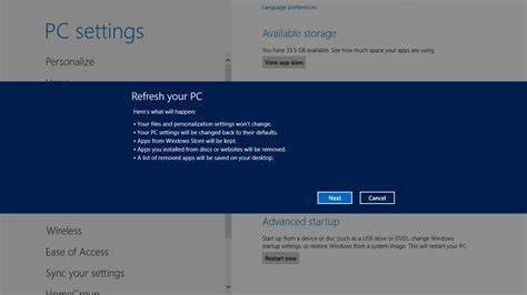 refresh my phone how to refresh and reset your windows 8 pc theunlockr