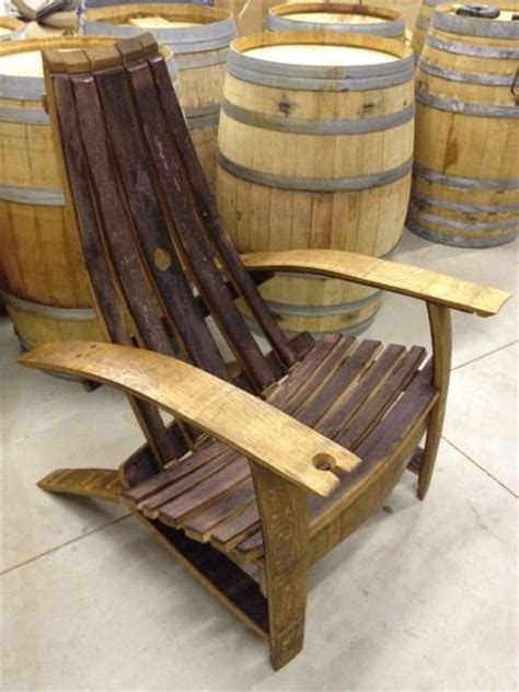 wine barrel adirondack chairs by fritter63 lumberjocks