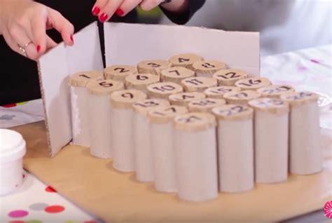 cr 233 ez votre calendrier de l avent 100 r 233 cup avec des rouleaux de papier toilette des id 233 es