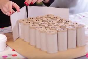Calendrier Avent Rouleau Papier Toilette : cr ez votre calendrier de l 39 avent 100 r cup 39 avec des rouleaux de papier toilette des id es ~ Farleysfitness.com Idées de Décoration