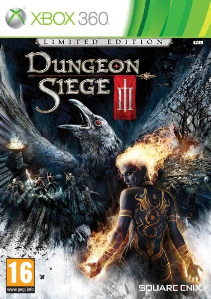 dungeon siege 3 xbox 360 dungeon siege 3 limited edition xbox 360 zavvi com