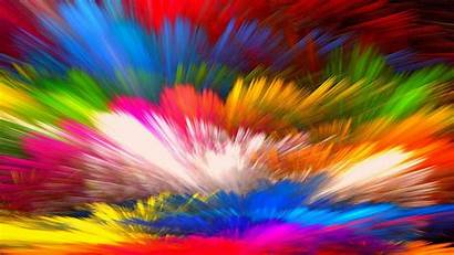 Colorful Colors Abstract Background Rainbow Splash Bright
