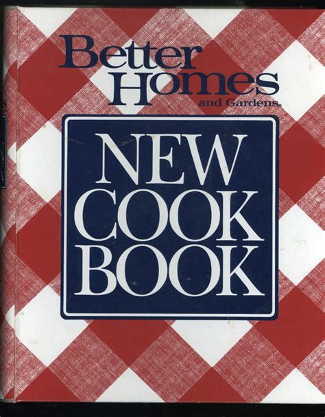 Better Homes Gardens New Cook Book, 1989