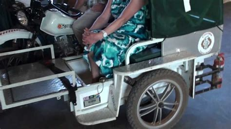Motorcycle Ambulance Saves Lies In Chimteka