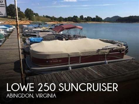 Pontoon Boats For Sale Near Abingdon Va by Sold Lowe 250 Suncruiser Boat In Abingdon Va 116271
